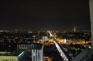 Panorámica desde el Hotel Meliá La Defense, Paris