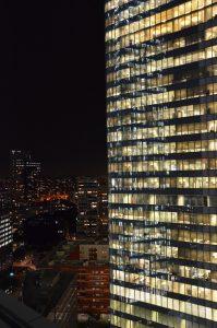 Panorámica desde la terraza del lounge del Hotel Meliá La Defenese